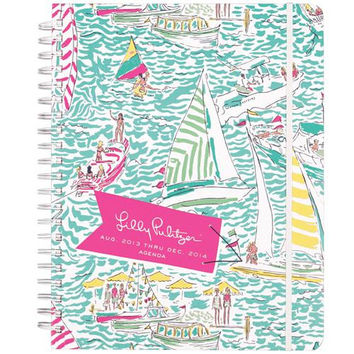 Jumbo 17-Month Agenda in Get Nauti by Lilly Pulitzer