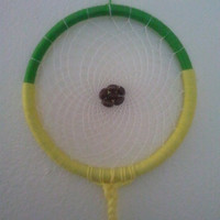 CLEARANCE: End Zone Football Dream Catcher - 10 Inches in Diameter