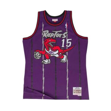 Mitchell & Ness Vince Carter Swingman Jersey Toronto Raptors Purple