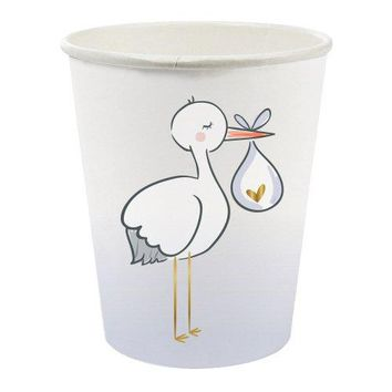 Stork Paper Cups (8 ct)