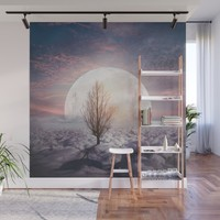 Hypnotized by the Moon Wall Mural by vivianagonzlez