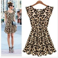 CUTE LEOPARD COOL DRESS