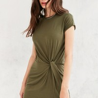 Silence   Noise Side Knot T-Shirt Dress