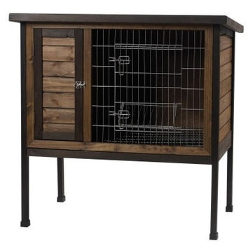 "SMALL ANIMAL - CAGES - RABBIT HUTCH - 36"" - CENTRAL - SUPER PET/PETs INTL - UPC: 45125652666 - DEPT: SMALL ANIMAL PRODUCTS"