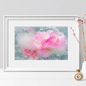 Large Floral Abstract Art Print Contemporary Photography. Botanical Abstract  Fine Art Photography Wall Art.  Stunning Home Decor Art