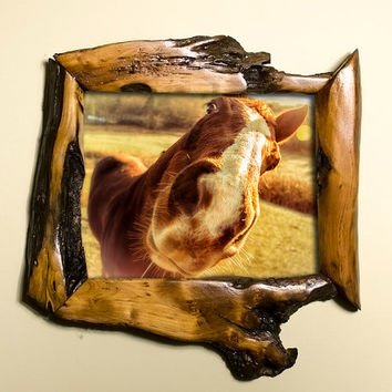 8x10 Canadian Willow Wood Unique Handmade Picture Frame