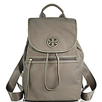 Tory Burch - Nylon Flap Backpack - Saks Fifth Avenue Mobile