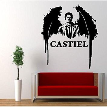 Supernatural Anti Possession Castiel Angel Decal Sticker Catholic Voodoo Demons for Car Windows Room