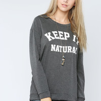 Keep It Natural Top