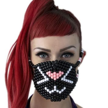Kitty Cat Surgical Kandi Mask