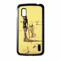 Salvador Dali Woman With Flower Head Nexus 4 Case
