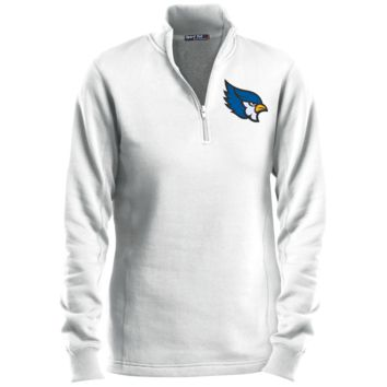 High Point Ladies' 1/4 Zip Sweatshirt