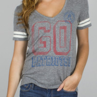 NFL New England Patriots Tailgate Tee -  - Junk Food Clothing