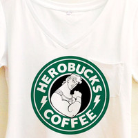 Herobucks Coffee Shirt | Hercules Starbucks | Disney