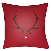 Rudolph Throw Pillow - Surya