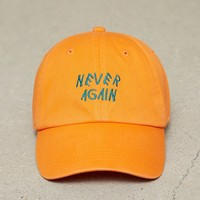 Men Never Again Embroidered Cap
