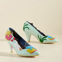 Irregular Choice Riveting Ribbets Heel | Mod Retro Vintage Heels | ModCloth.com