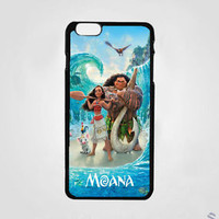 New Cheap Moana Disney Movies Print On Hard Plastic Cover Case For iPhone 7 plus