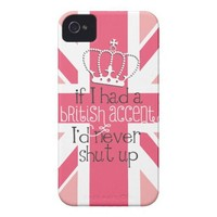 If I had a British accent I'd never Shut Up UK from Zazzle.com
