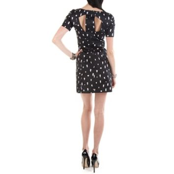 French Connection Women's Contemporary Polka Spray Dress at Von Maur