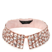 Beaded collar - Nude Pink | Jewellery | Ted Baker UK