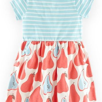 Girl's Mini Boden 'Hotchpotch' Jersey Dress