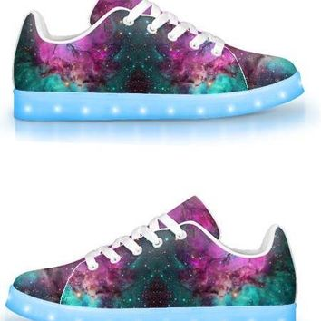 Extraterrestrial - APP Controlled Low Top LED Shoes