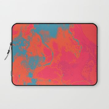 Pixelated Laptop Sleeve by duckyb
