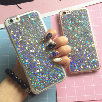 【New Upgrade】Twinkle Case for iPhone 5S 6 6S Plus 7 7Plus + Nice Gift Box