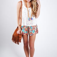 Tahitian Sunrise Shorts
