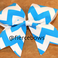 Chevron Cheer Bow