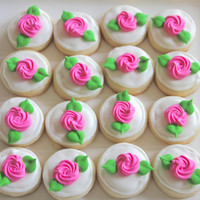 5 dozen Mini Rosettes Cookie Nibbles