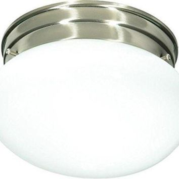 "Nuvo 76-601 - 8"" Close-To-Ceiling Flush Mount Ceiling Light"