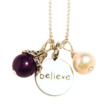 Believe Fertility Charm Necklace