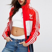 adidas Originals Color Block Windbreaker Jacket at asos.com