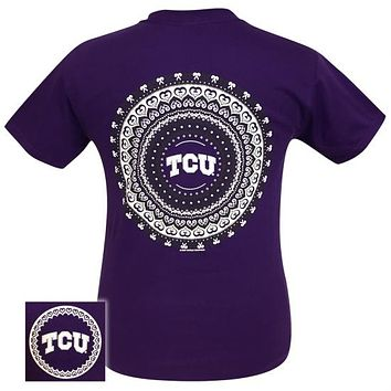 TCU Texas Preppy Mandala T-Shirt