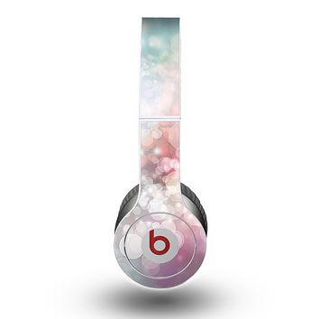 The Unfocused Pink Abstract Lights Skin for the Beats by Dre Original Solo-Solo HD Headphones