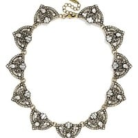 Women's BaubleBar 'Zelda' Crystal Collar Necklace