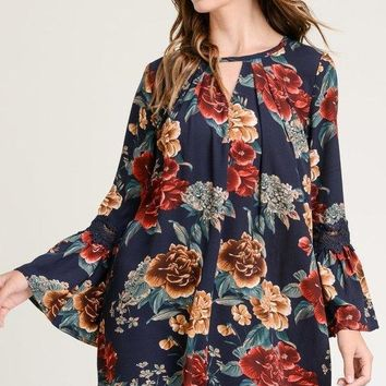 Fall Floral Tunic / Dress