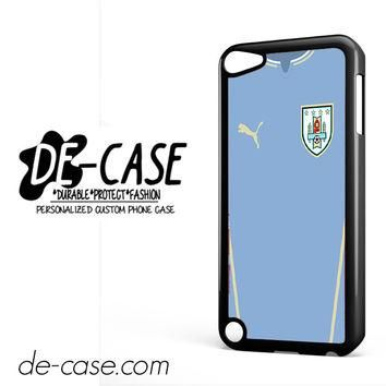 Uruguay Soccer Jersey For Ipod 5 Ipod Touch 5 Case Phone Case Gift Present YO