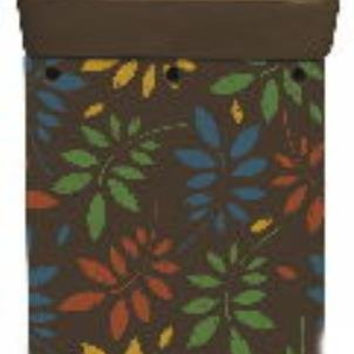 BROWN LEAF FRAGRANCE WARMER - WAX MELTER by Boulevard