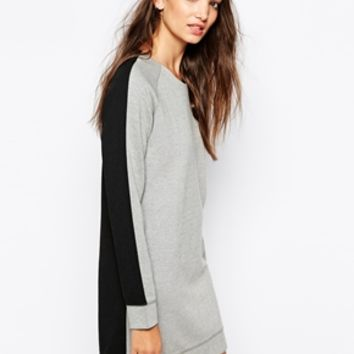 Vero Moda Color Block Sweat Dress