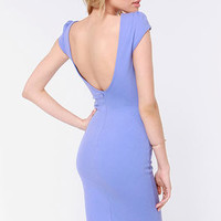 Chic of Nature Lavender Bodycon Dress