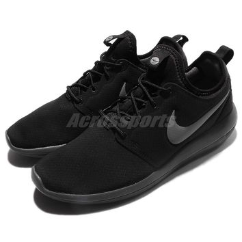 Nike Roshe Two SE 2 Rosherun Black Grey Men Running Shoes Sneakers 859543-001
