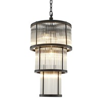 Vintage Glass Chandelier | Eichholtz Avery