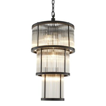 Glass Drum Chandelier | Eichholtz Avery