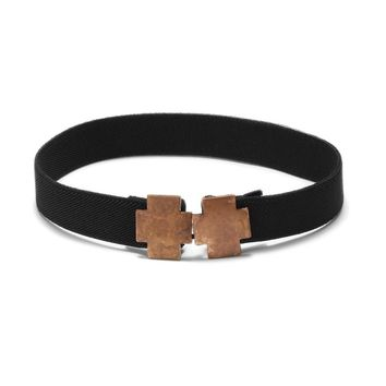 Double Cross Industrial Copper Choker