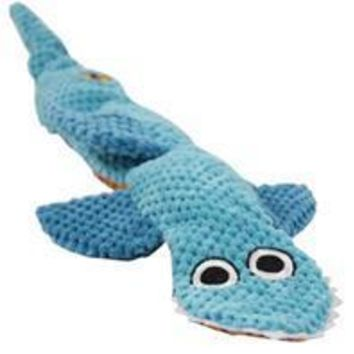 Petstages - Stuffing Free Floppy Shark Dog Toy