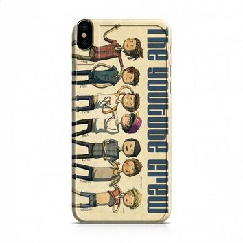 BRITISH YOUTUBERS CREW IN ART iPhone 8 | iPhone 8 Plus case