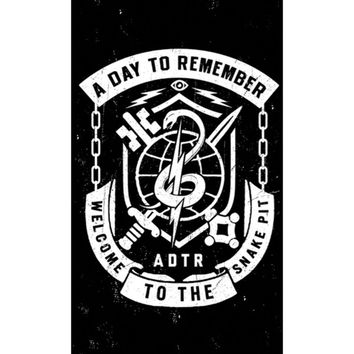 A Day To Remember - Poster Flag